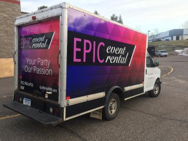 Box truck wrap - Eden Prairie, Minneapolis and Edina