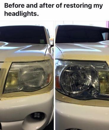 Restoring Headlights Thumbnail