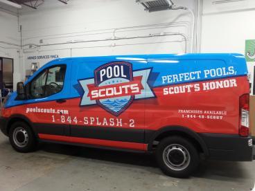 Pool Scouts Van