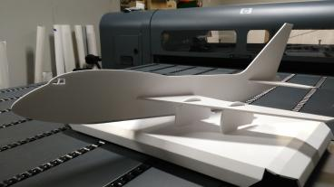 Routed Foamcore Airplane: Serving the Metro Denver Area
