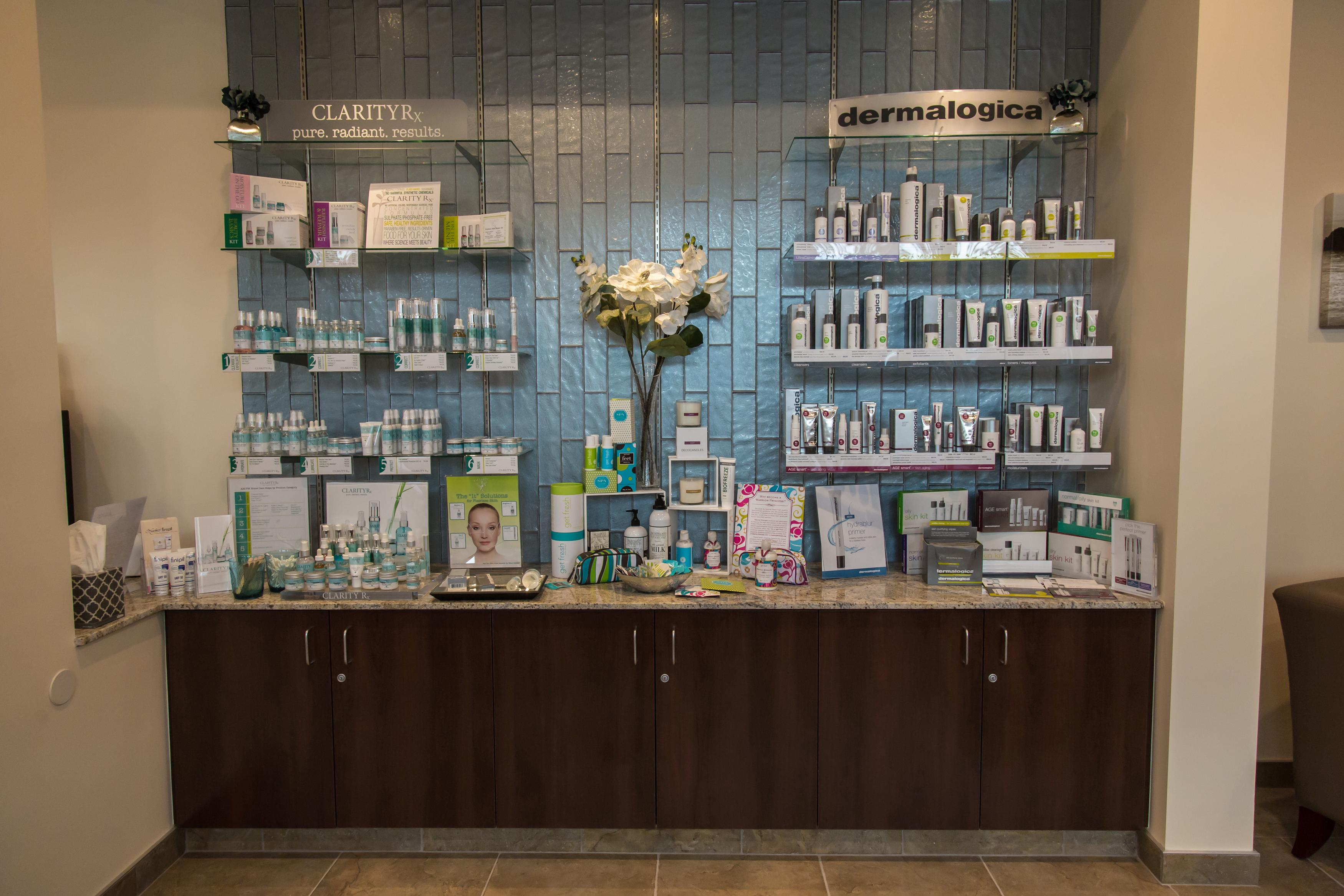 Retail Skin Care Products