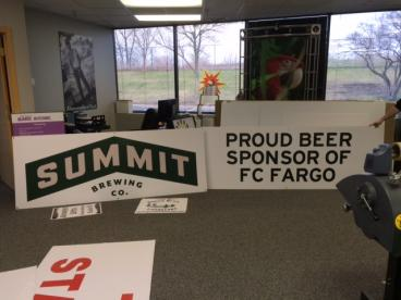 Summit Beer and FC Fargo