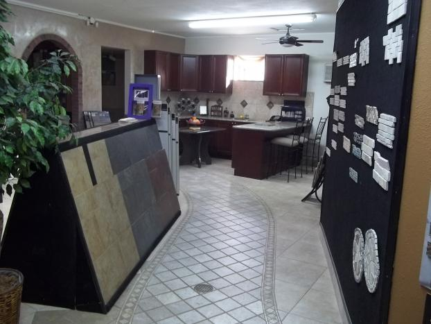 ... On Location At Du0026L Tile Inc., A Kitchen Remodeling In Reno, NV ...