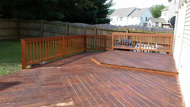 Before,Deck Repair, Refinish, Restore, in Spotslyvania