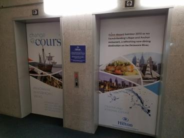 Hilton Elevator Doors