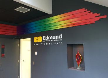 Edmund Optics Wall of Excellence