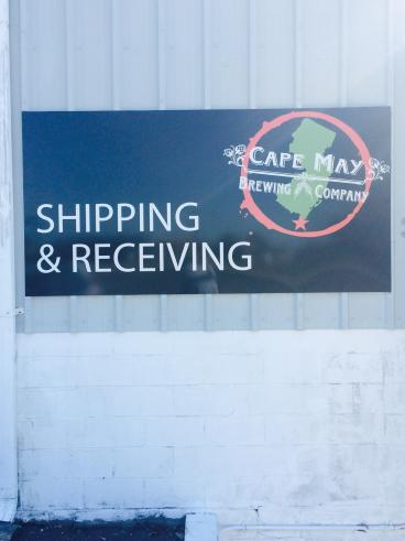 CMBC Shipping and Receiving Sign