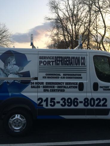 Service Port Refrigeration Service Van