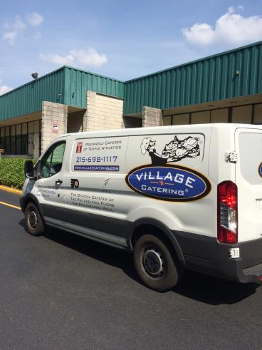 Village Catering Delivery Van