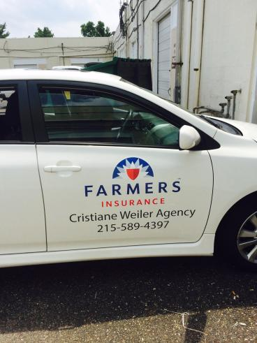 Farmers Insurance Vehicle