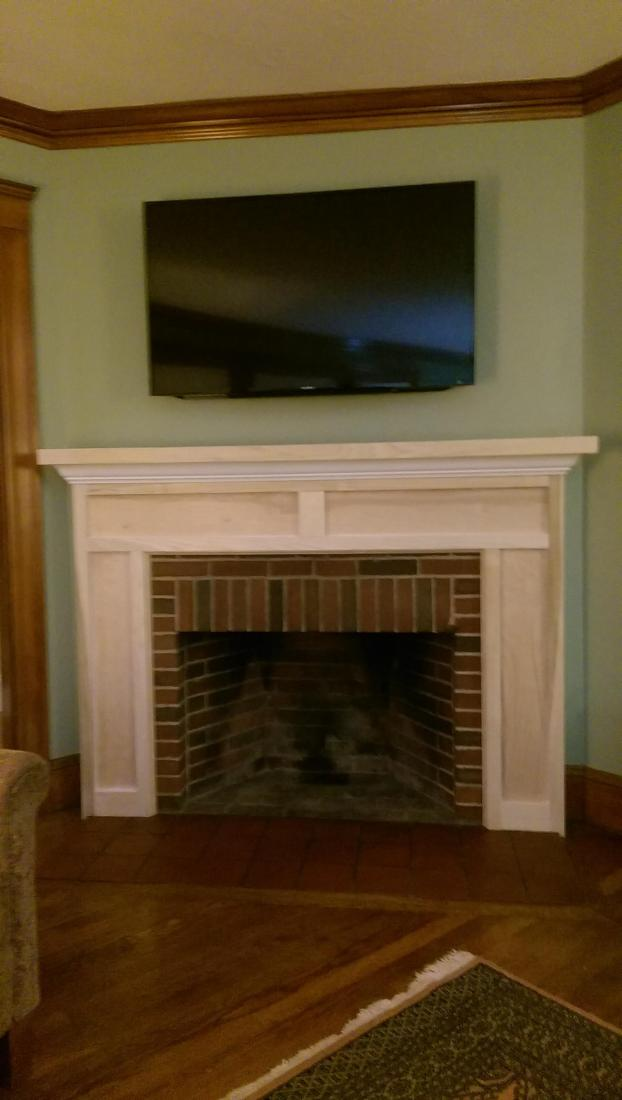 Fireplace (After) - Medford