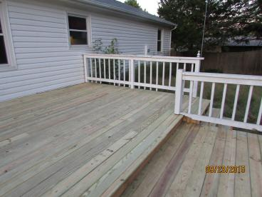 After, New deck boards