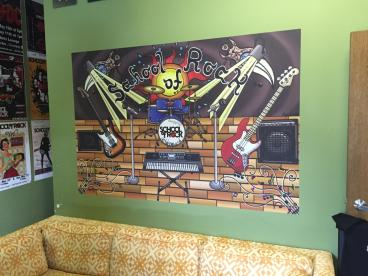 Wall Mural - School of Rock Highland Heights