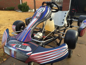 Doing the graphics for go-karts is the best!