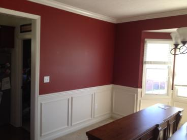 After photo of Custom carpentry work completed in South Park, PA