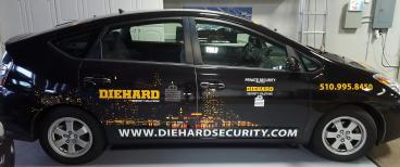 Die Hard full vehicle wrap