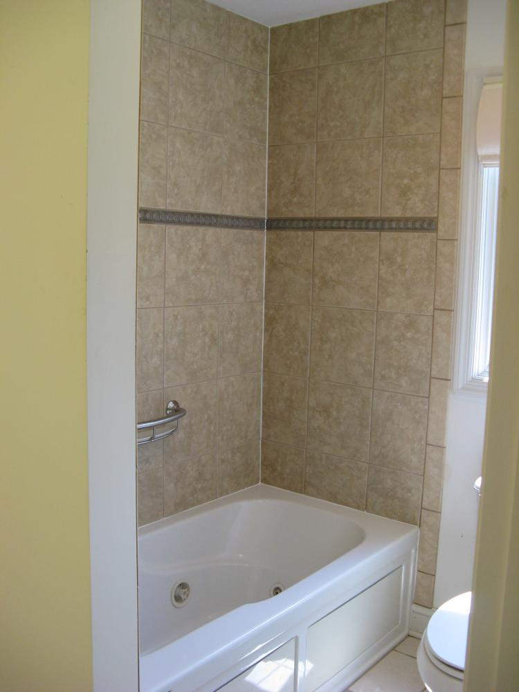 After photo of Jacuzzi tub installed in Jefferson Hills, PA