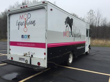 Vehicle Wrap - Mod Equestrian