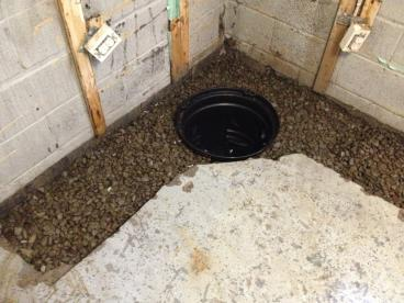Basement Drainage System Installation in Dallas