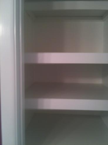 Bathroom Remodeling Custom Shelves in Closet in Kingston