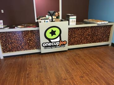 POS Counter Graphics One Cup Joe Warminster PA