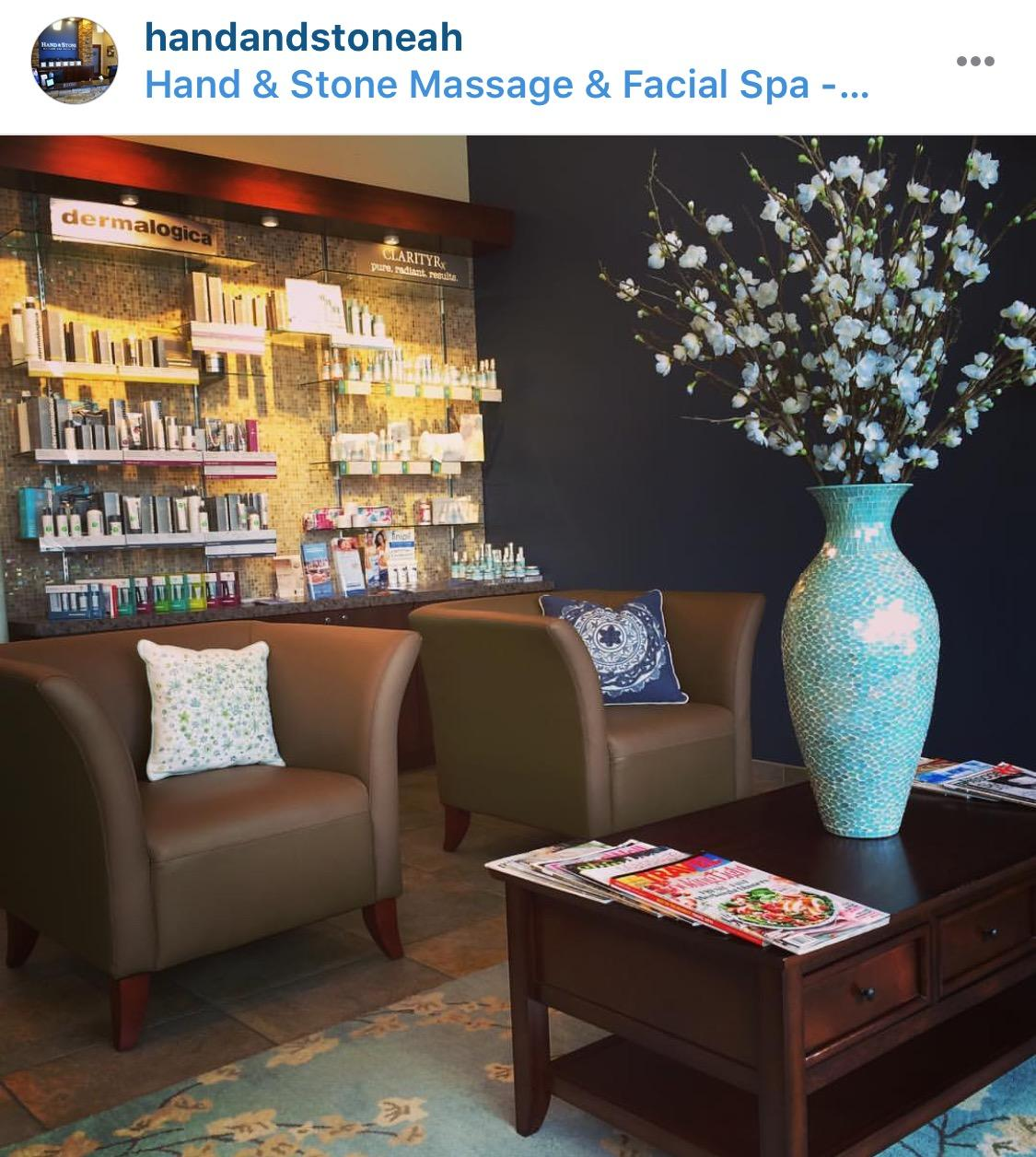 Hand & Stone RM is on Instagram at Hand and Stone