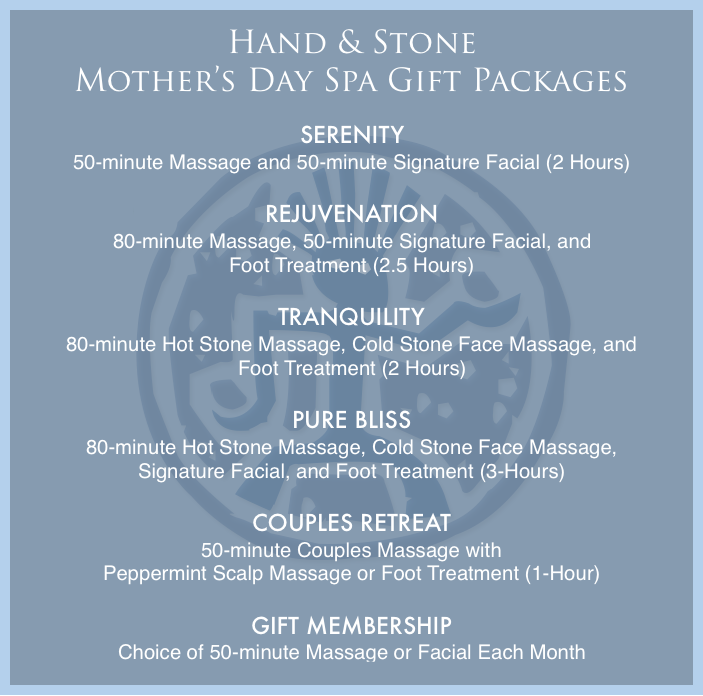 Mother's Day Spa Gift Packages