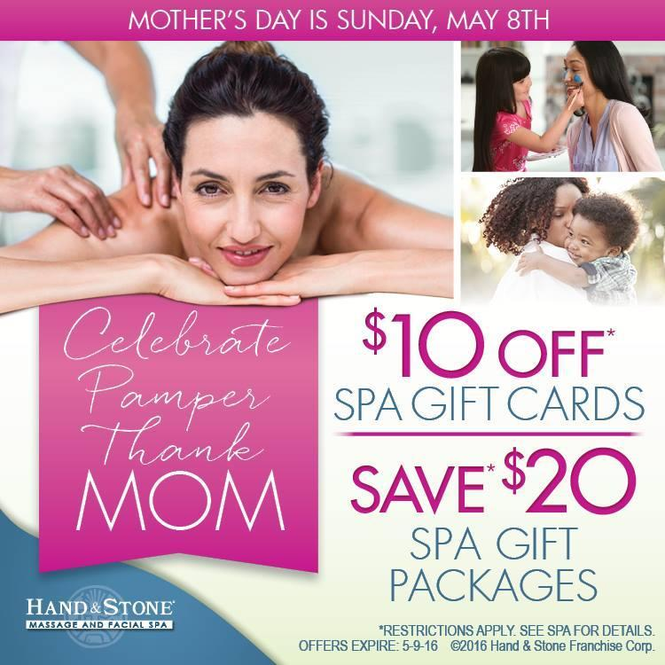 Mother's Day Gift Card Specials