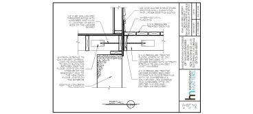 Deck Installation Ledger Board Design Detail