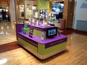 Mall Kiosk WrapTempe Chandler Arizona