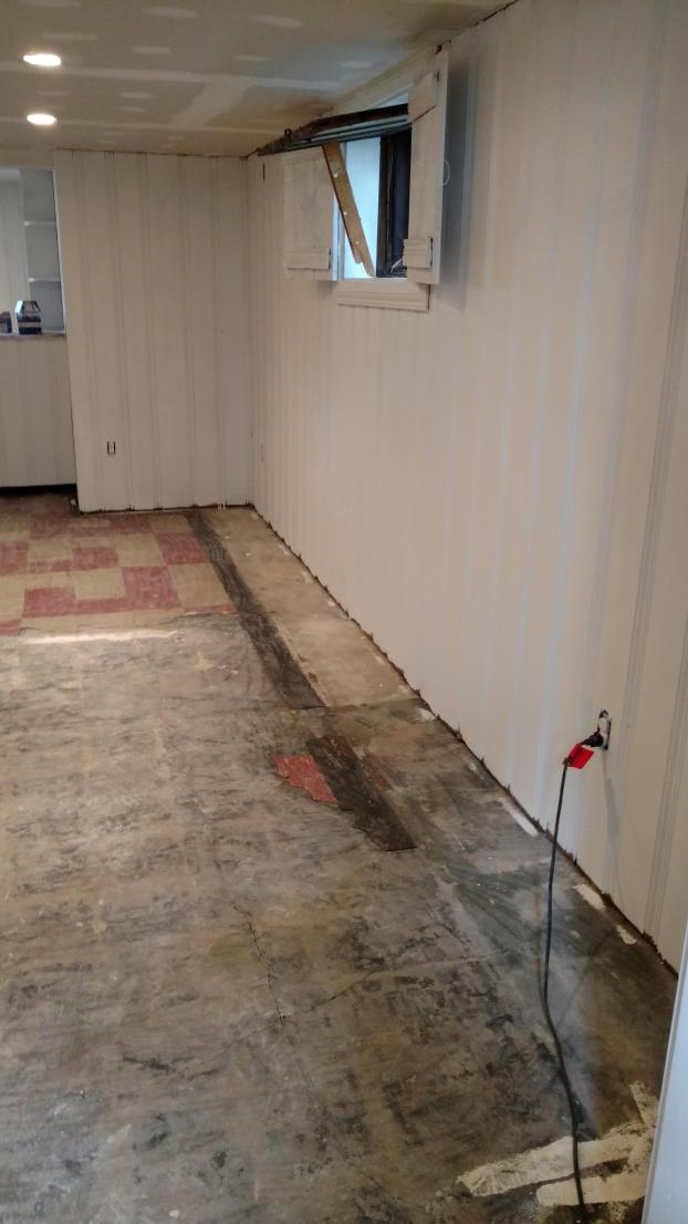Basement Remodel - Winchester (Before)
