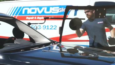 Installing New Windshield with Buddy Tool Assistance Thumbnail