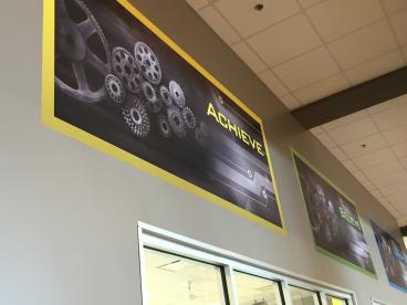 Wall Graphics for The Wellness Center in Johnson City
