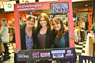 Photo frame for COVA Singles Event