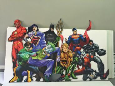 DC Comics Cutouts