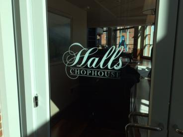Halls Chophouse, SpeedPro Greenville