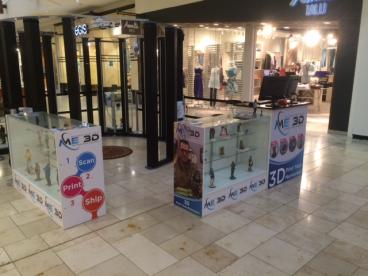 ME3D opens new kiosk in Eden Prairie Center