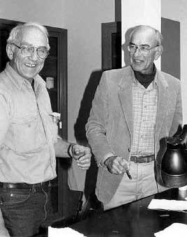 Below on the left is Dr. Frank Werner, the inventor of Windshield Repair.