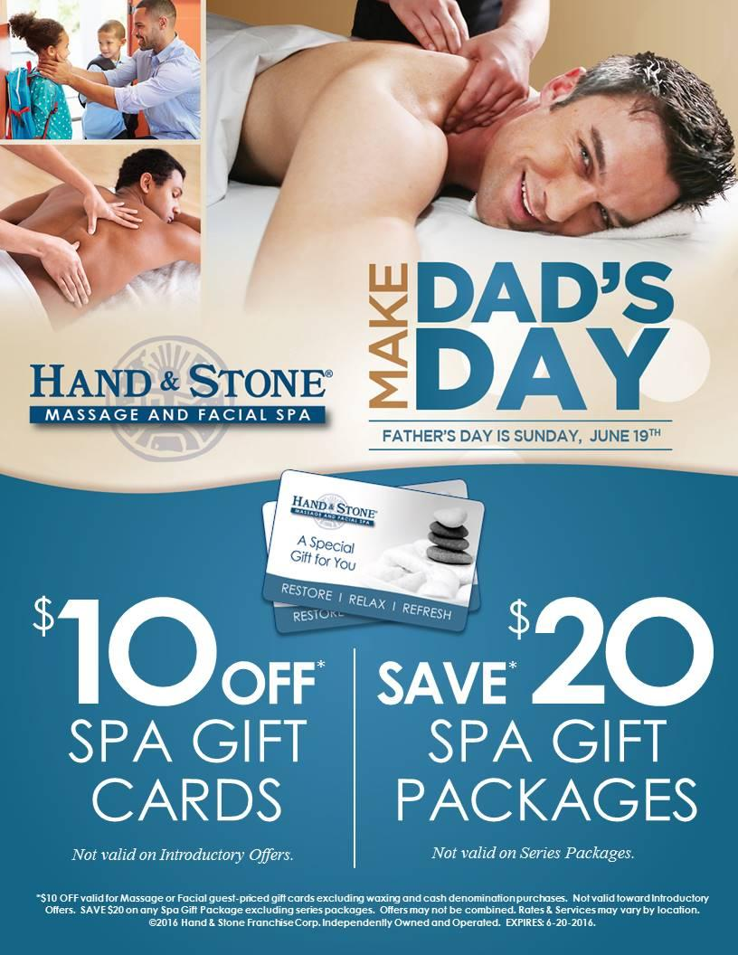 Father's Day Gift Cards On Sale Now!