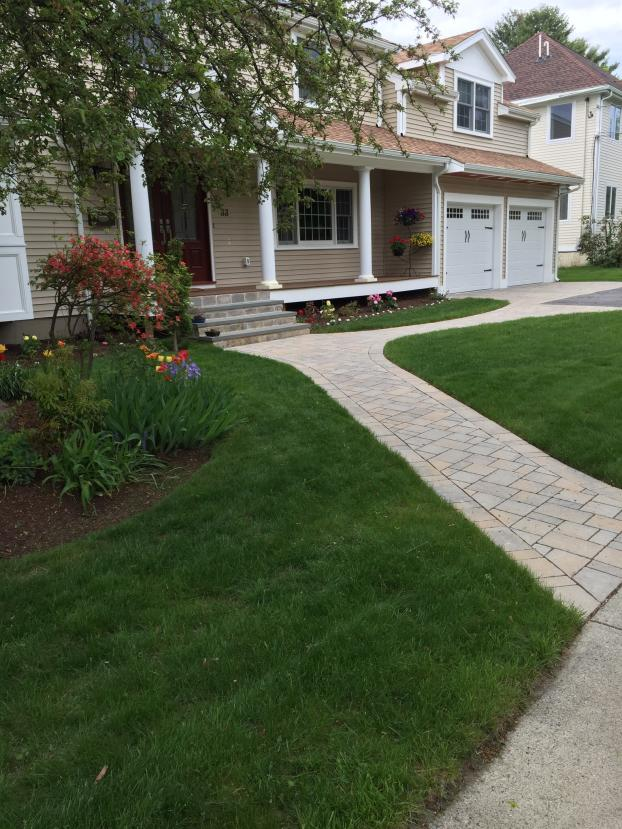 A Recent Landscaper Job In The Area ...