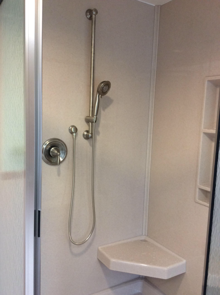 New Shower Installation in Trucksville