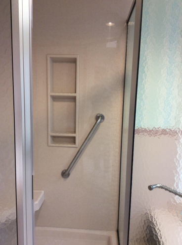 New Shower and Grab Bar Installation in Trucksville