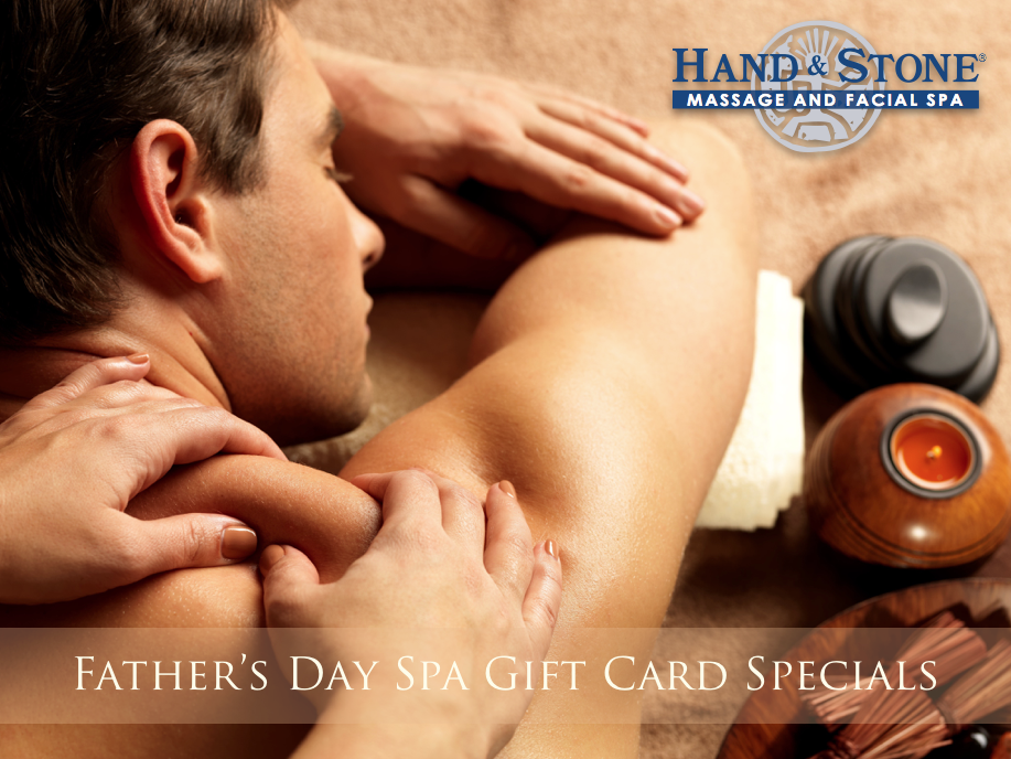 Father's Day Spa Gift Package Specials