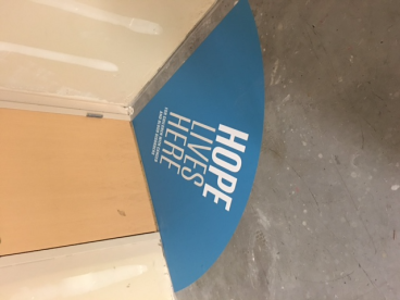 Short-Term Floor Graphics