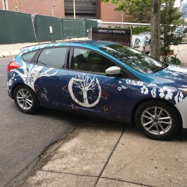 Mural Arts/Zip Car