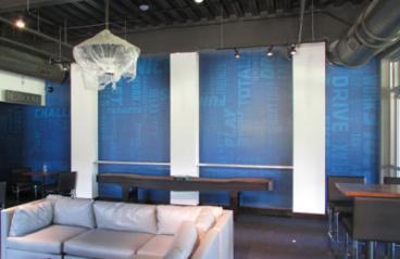 Top Golf Midtown Wall Mural