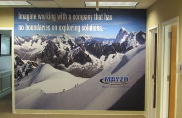 Mayzo Corporate Wall Mural