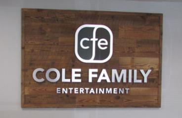 Cole Family Office Dimensional Signage