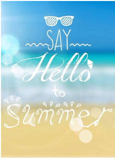 We wish everyone a safe and happy summer!