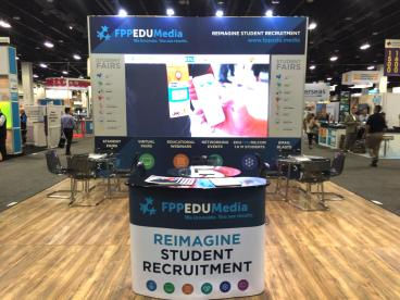 FPPEDU Media Trade Show Display